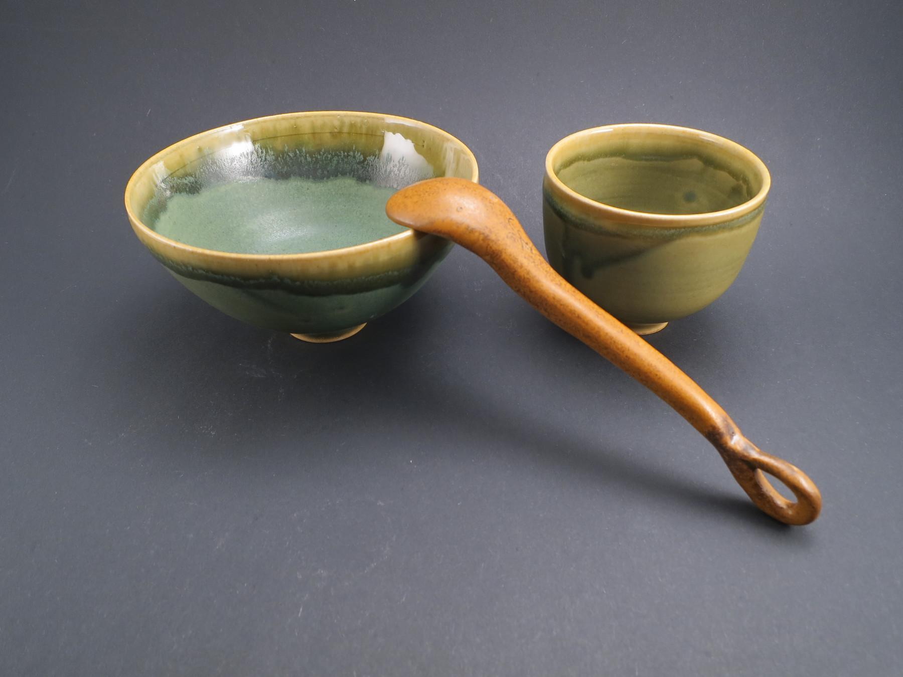 Tea Cups for Green Tea Ceremony - Ildikó Károlyi