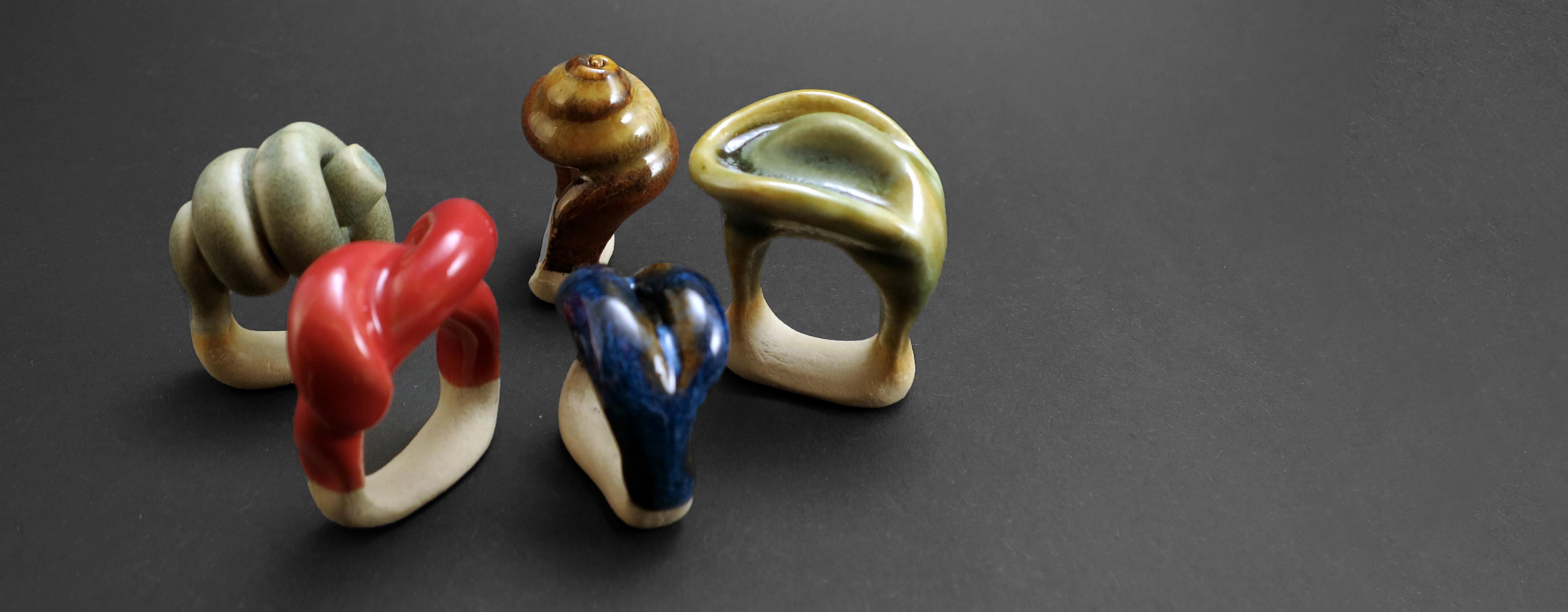 Ceramic Jewelry - Ildikó Károlyi
