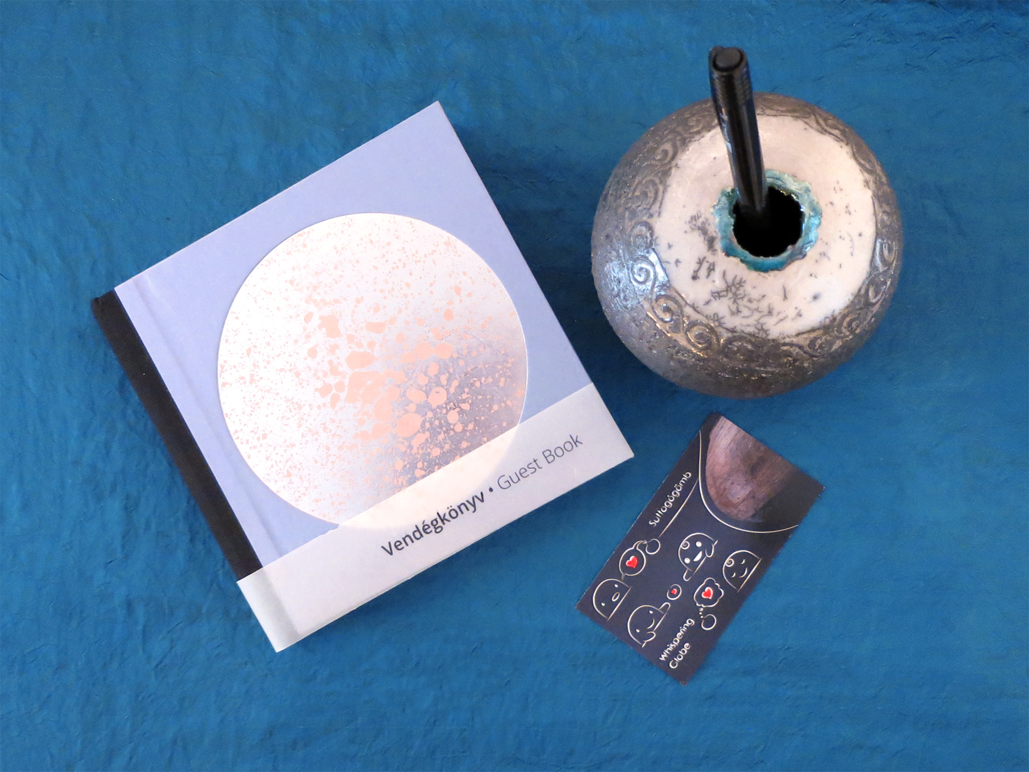 Guest Book • by DOT for You - Tangible Universes: Solo Exhibition with Whispering Globes