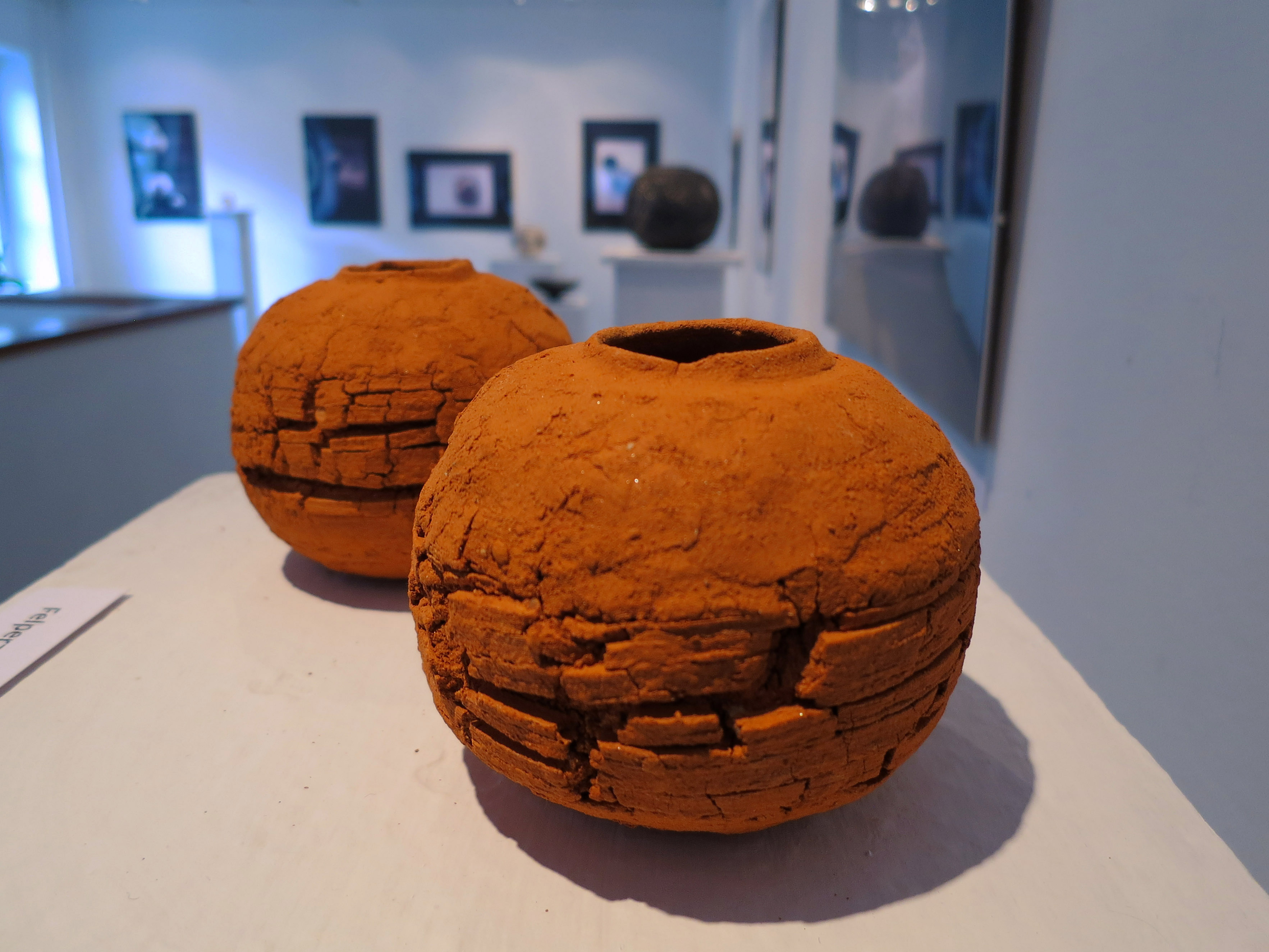 Scorched Earth - Tangible Universes: Solo Exhibition with Whispering Globes