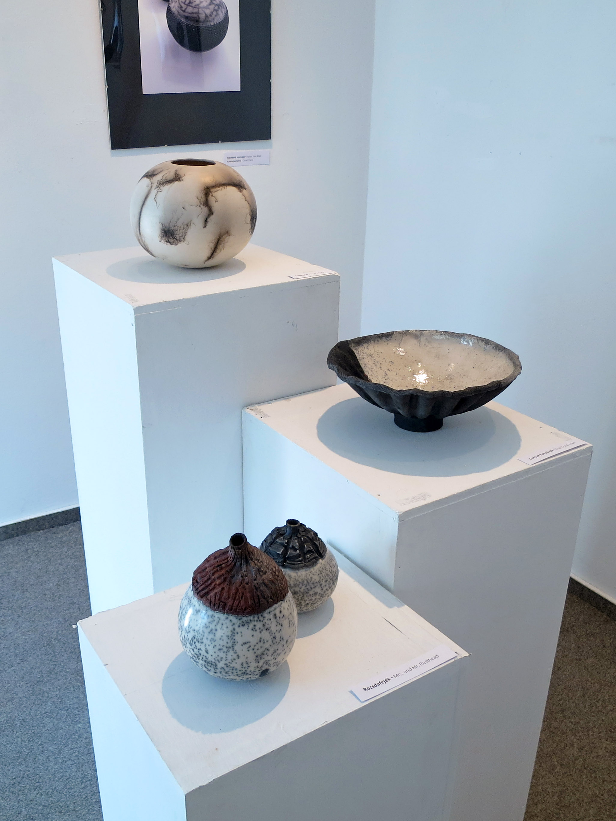 Not Just Whispering Globes - Tangible Universes: Solo Exhibition with Whispering Globes