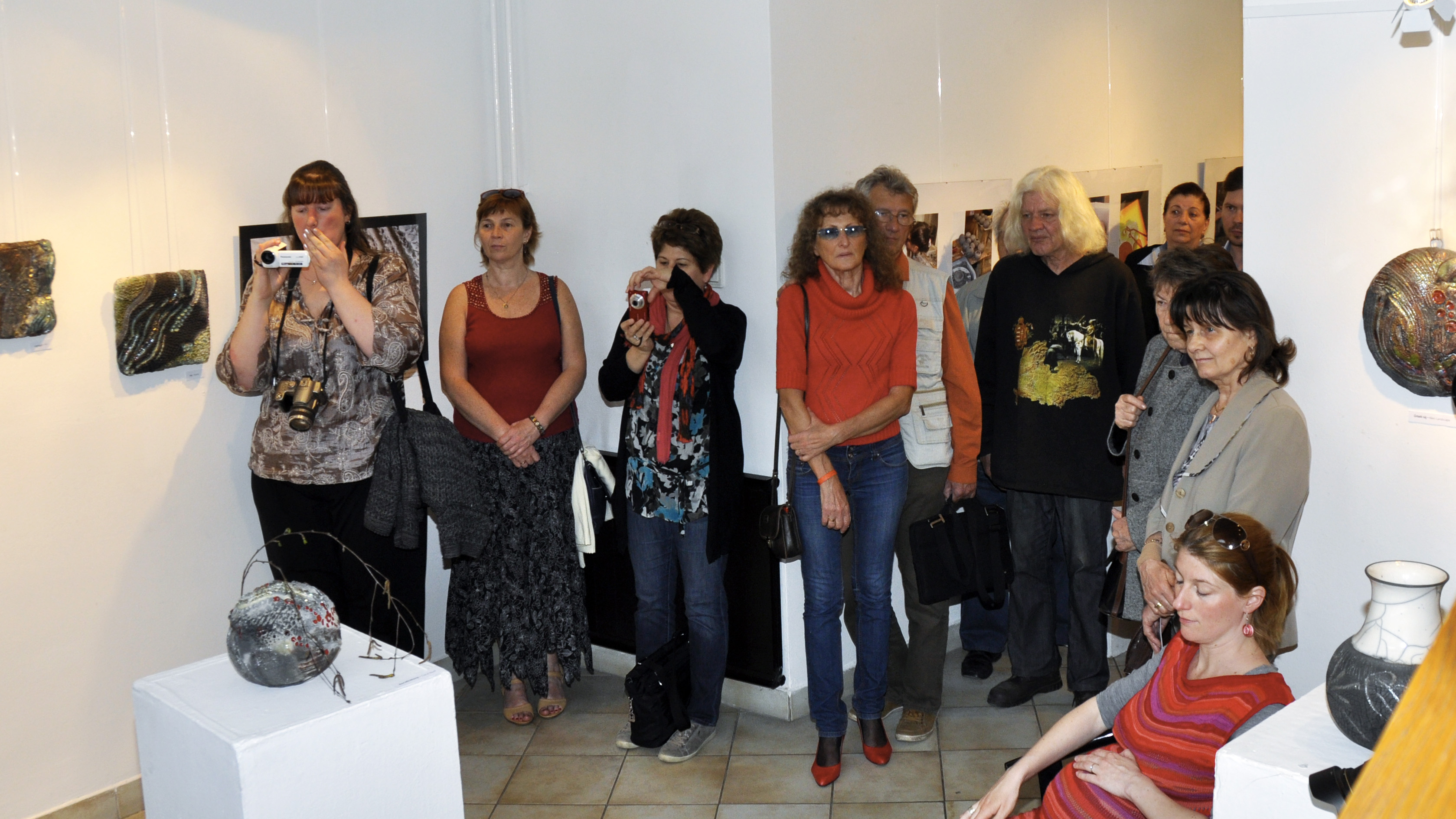 Audience - Tangible Universes: Solo Exhibition with Whispering Globes