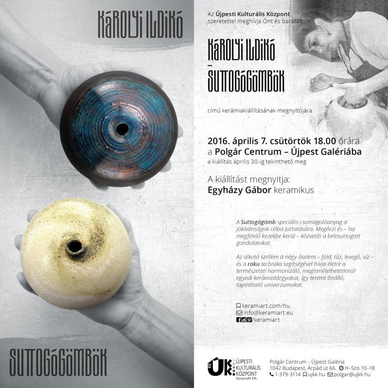 Meghívó - Tapintható univerzumok: egyéni kiállítás Suttogógömbökkel