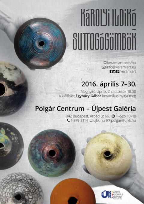 Plakát - Tapintható univerzumok: egyéni kiállítás Suttogógömbökkel