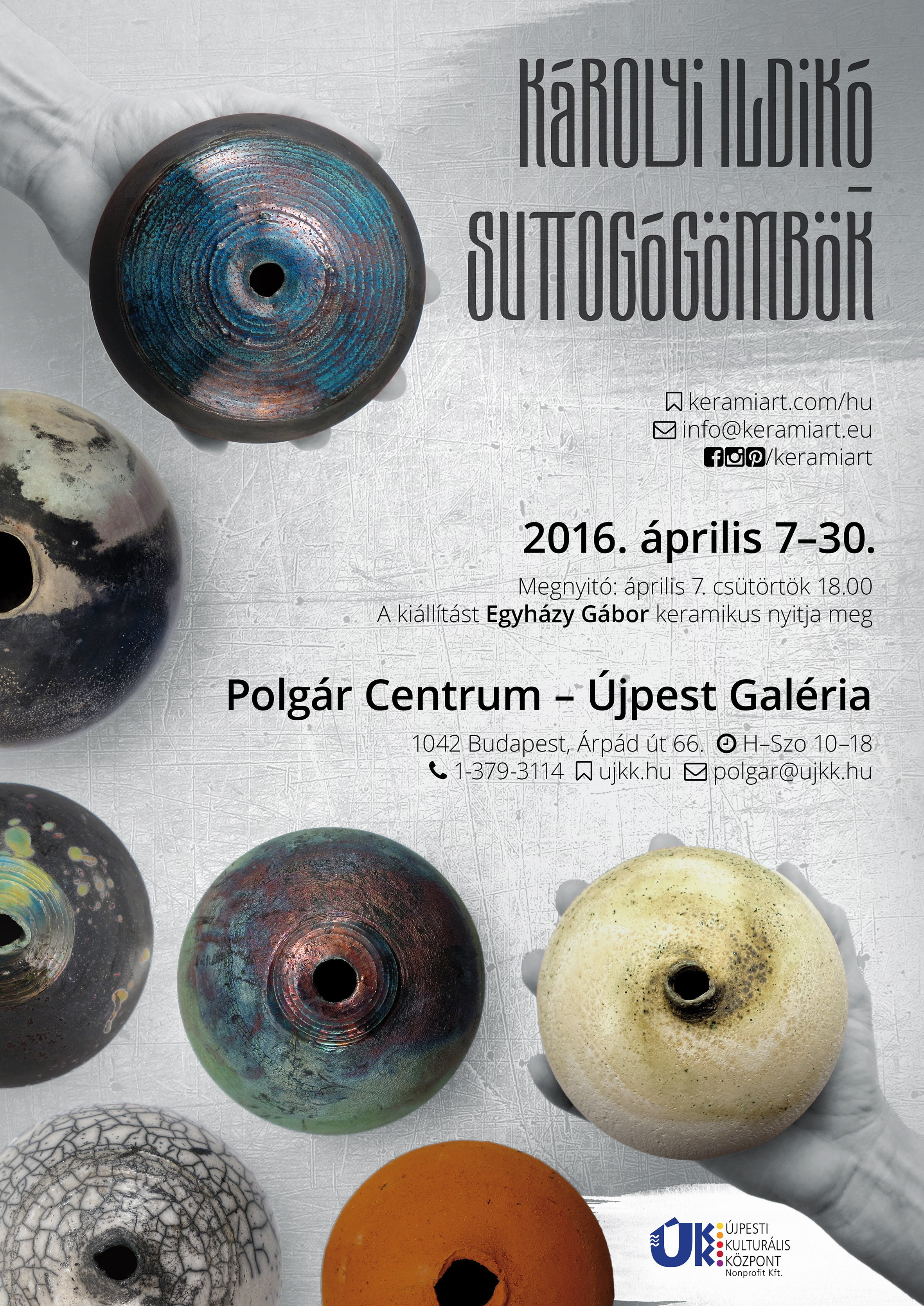 Poster - Tangible Universes: Solo Exhibition with Whispering Globes