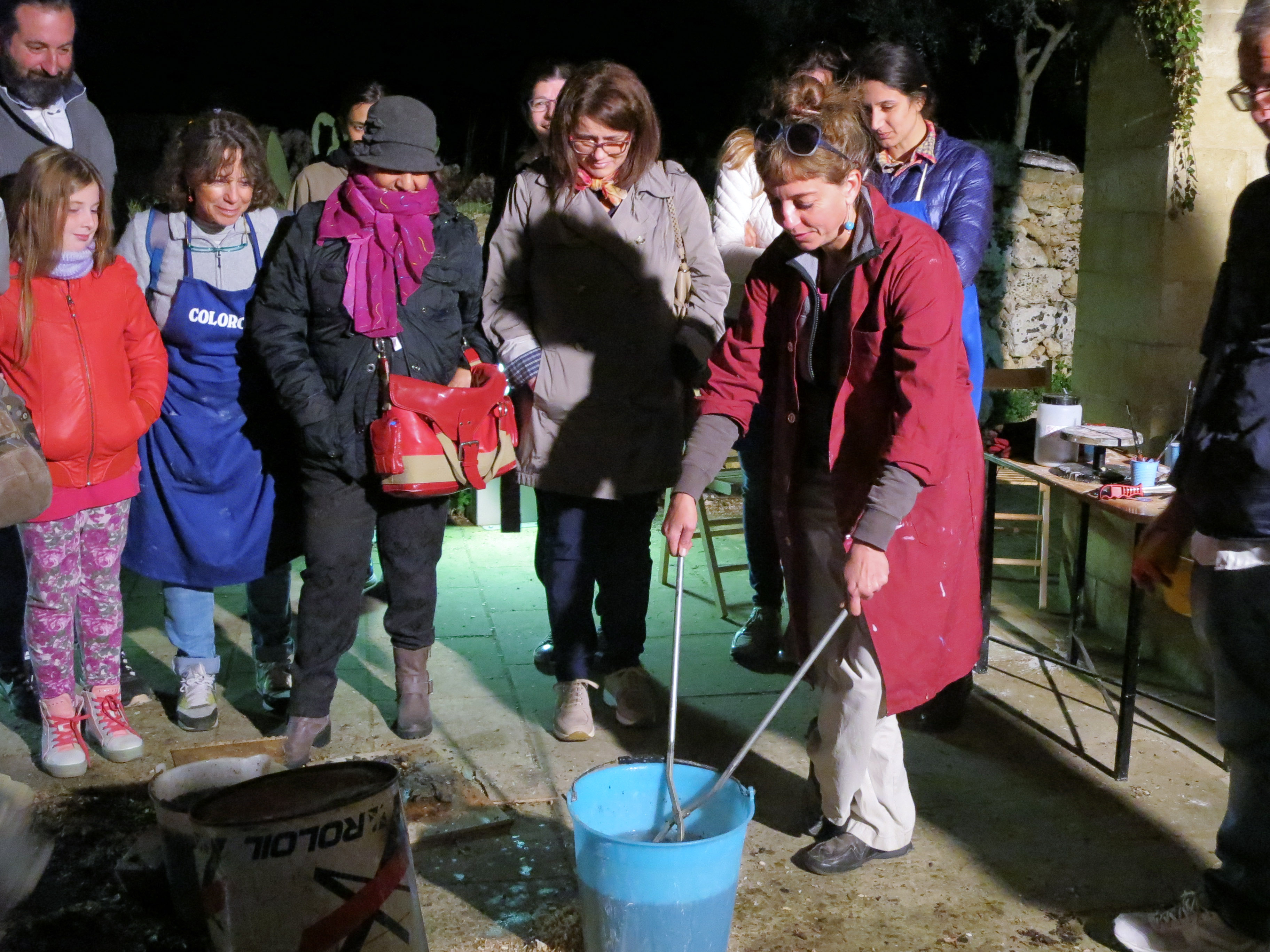 Adventurous Performance - 1st International Ceramic Symposium in Salento and Raku Workshop