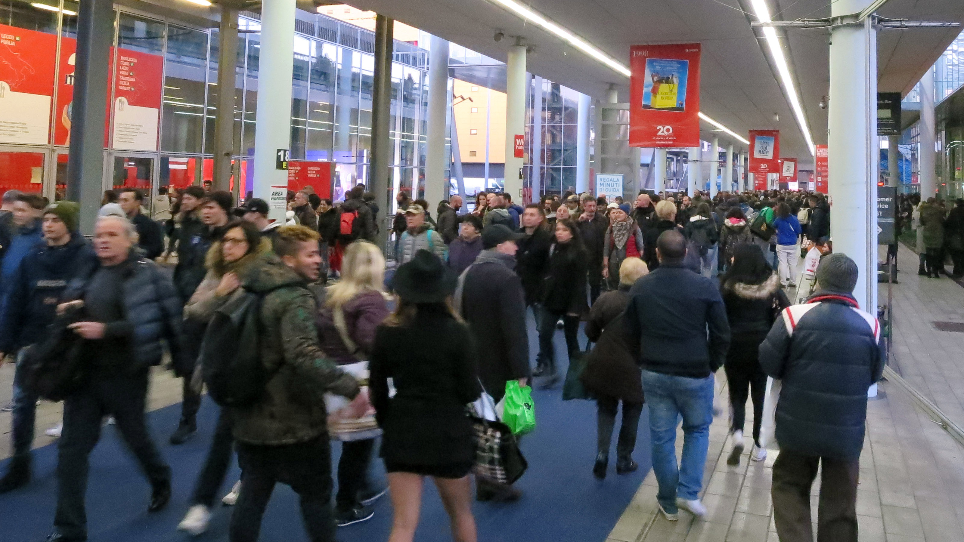 Crowd - L'Artigiano in Fiera: Exhibition and Fair in Milan