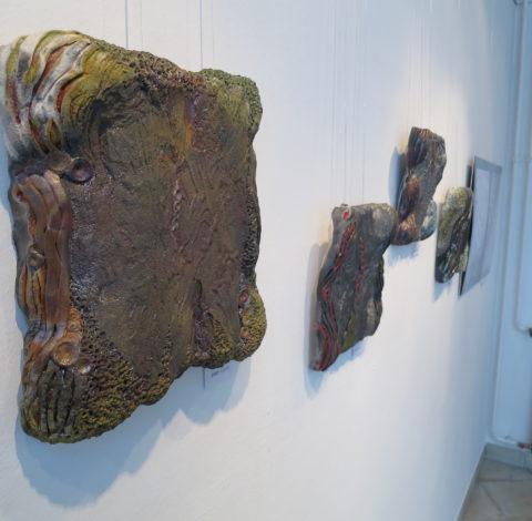 Négy őselem: Faliképek - Károlyi Ildikó