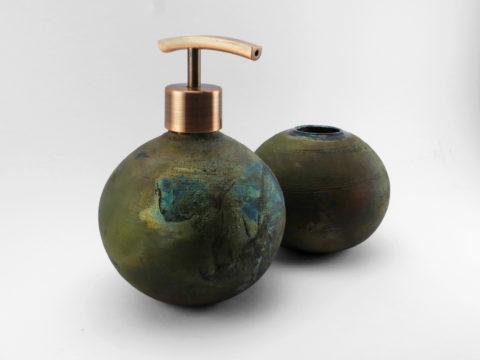 Emerald Mist Bathroom Set - Ildikó Károlyi