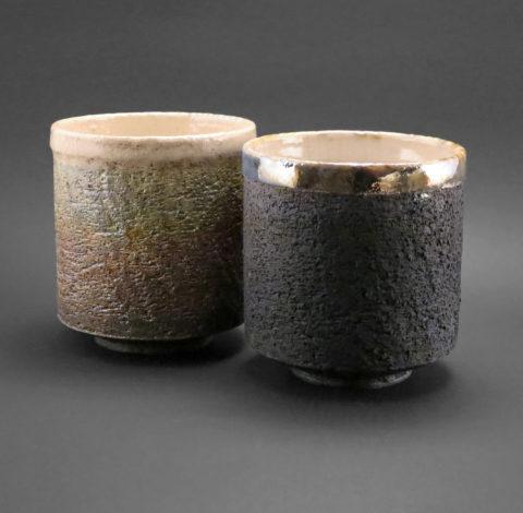 Moha és karbon kapucsínós csészék - Károlyi Ildikó