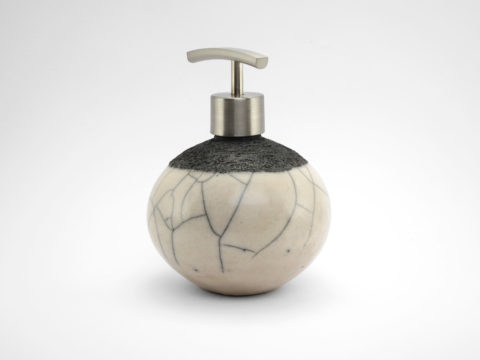Black and White Soap Dispenser - Ildikó Károlyi
