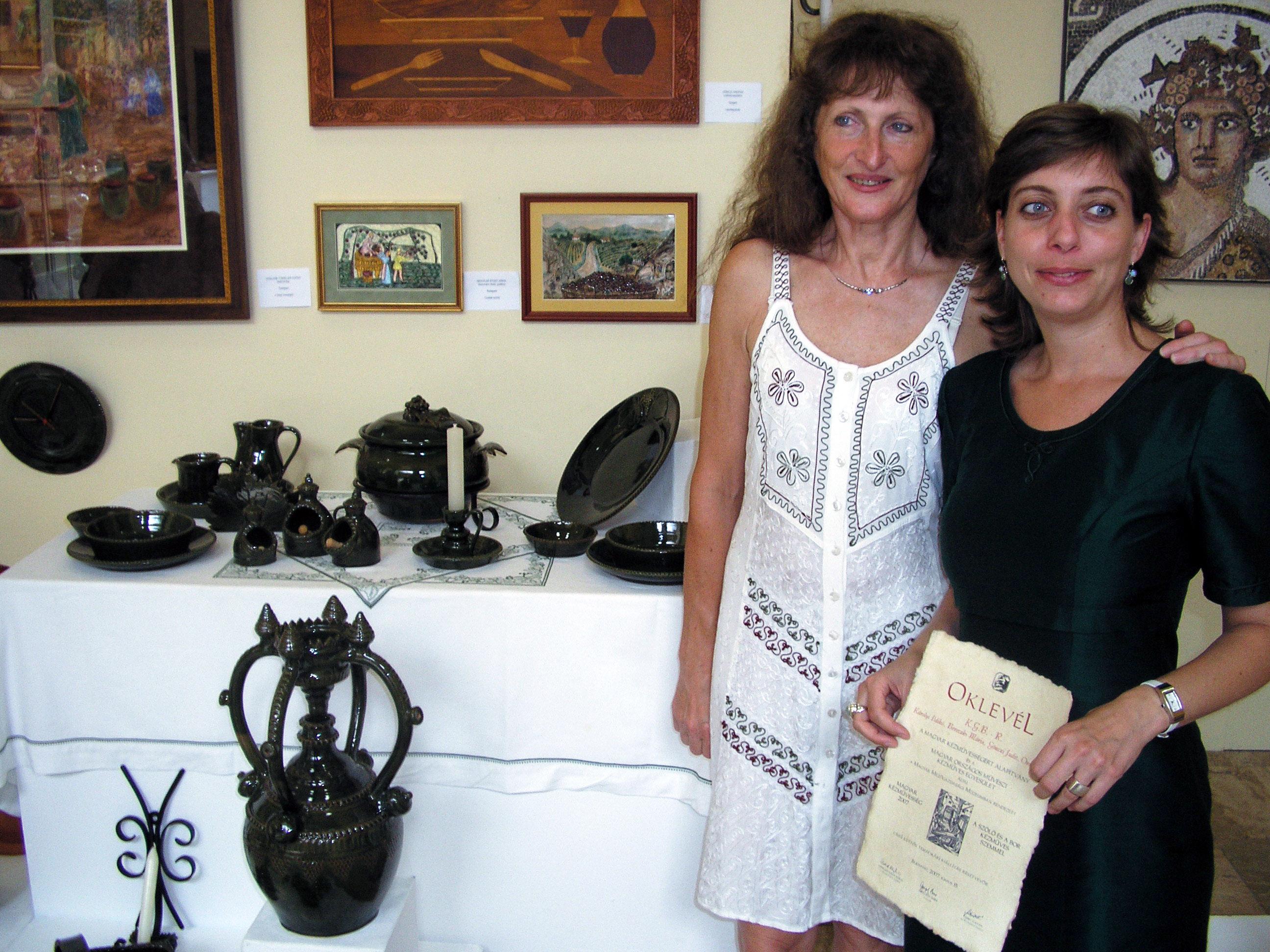 Mária Bereczki and Ildikó Károlyi