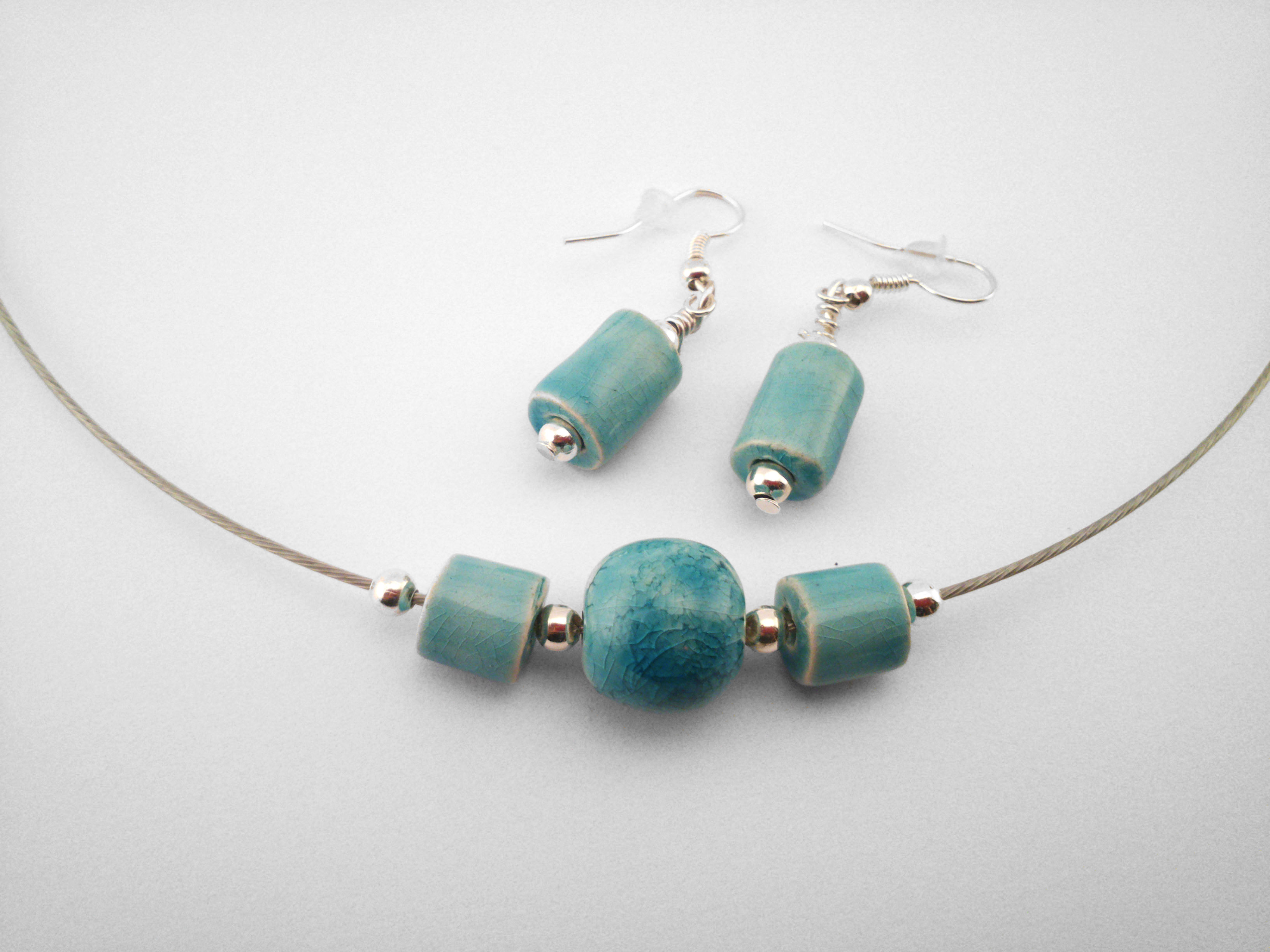 Turquoise Necklace and Pendants - Ildikó Károlyi