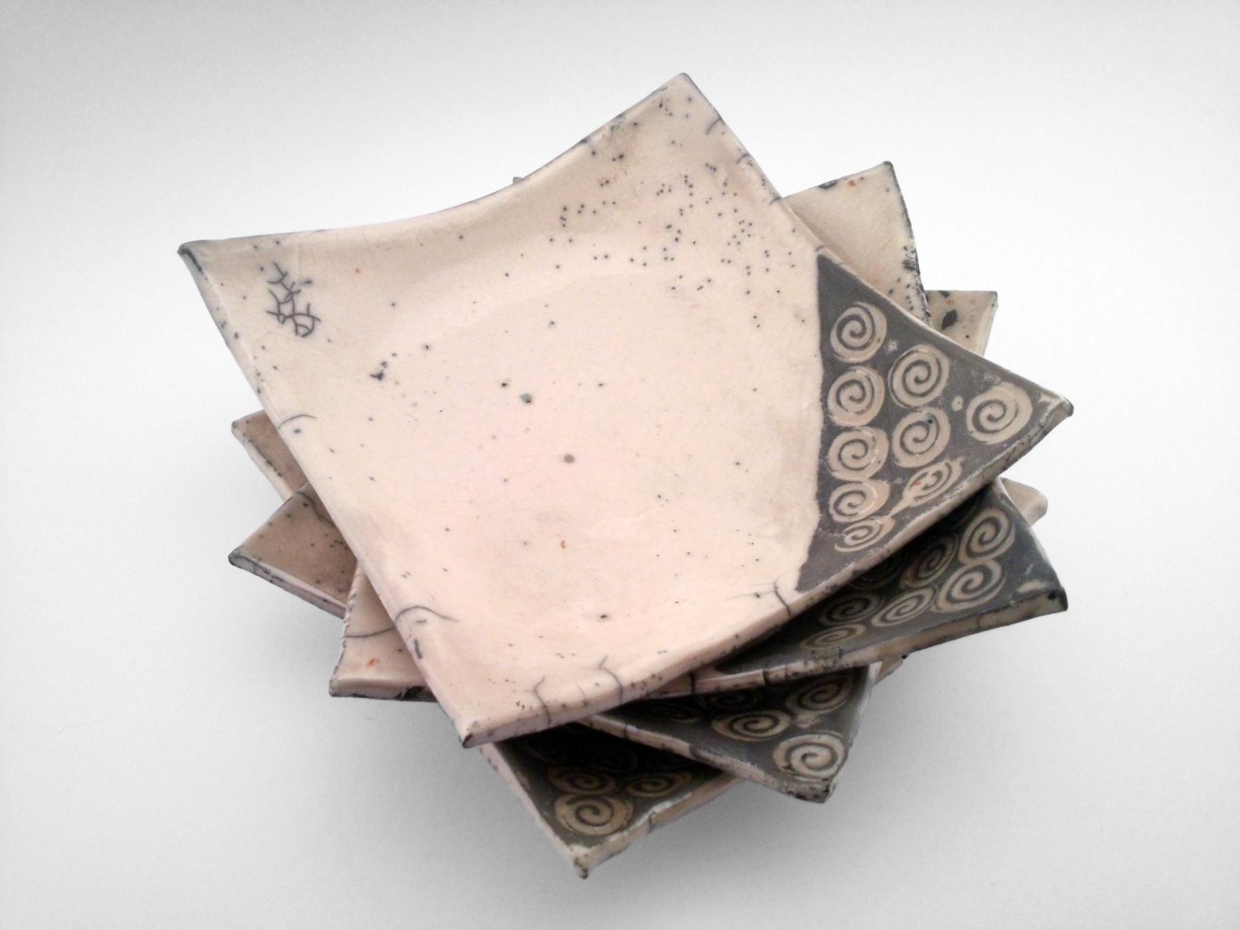Spiral Plate Set - Ildikó Károlyi