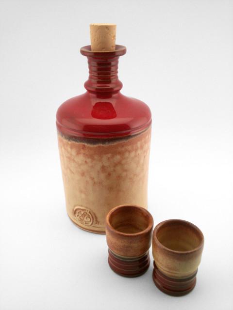 Cylinder-shaped Pálinka Set - Ildikó Károlyi