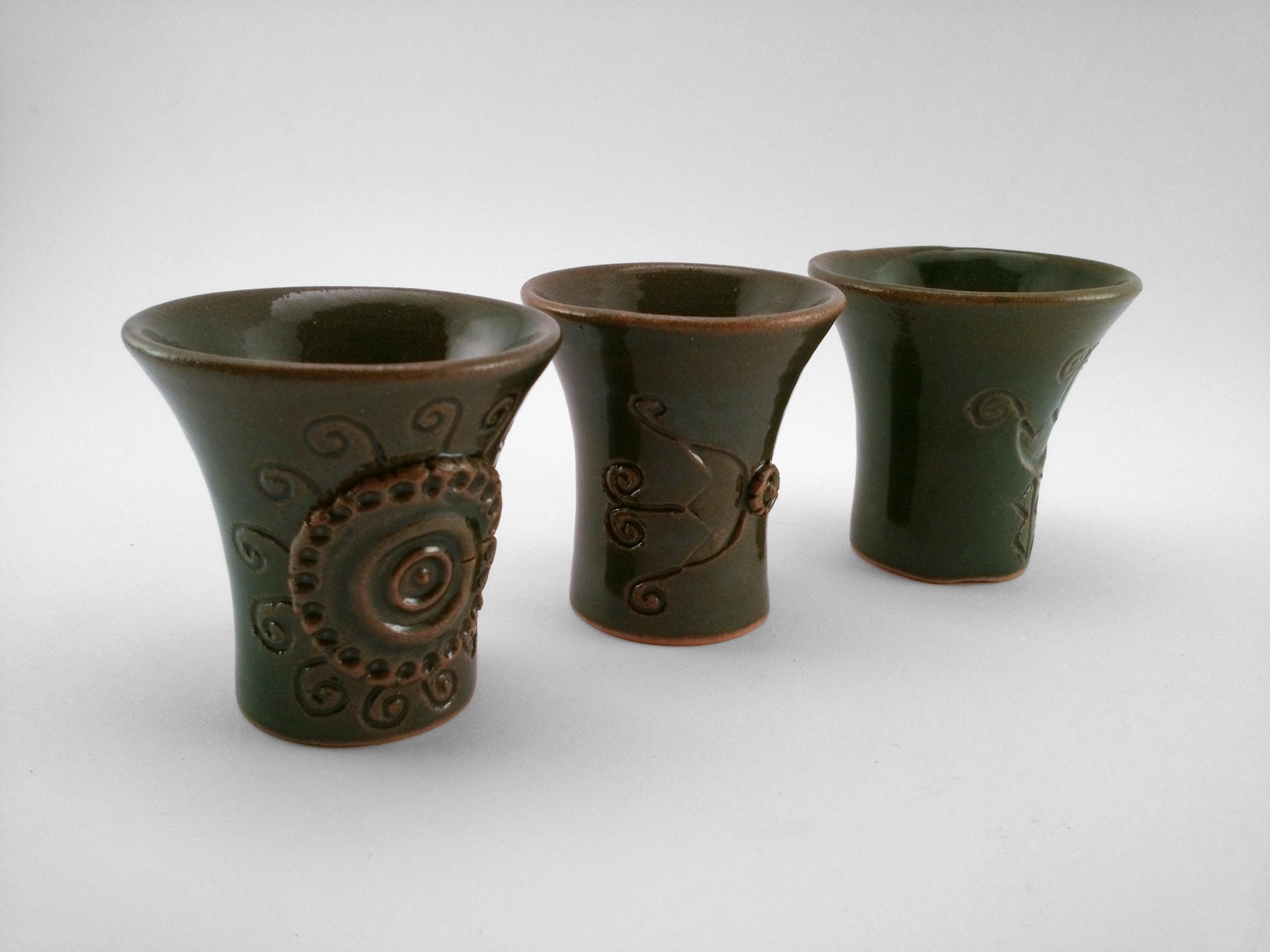 Traditional Pálinka Cups - Ildikó Károlyi