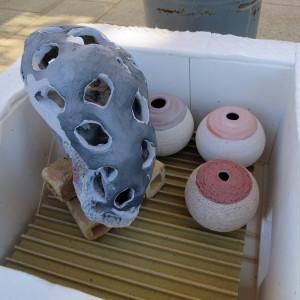 Raku+Fire: Filling the kiln