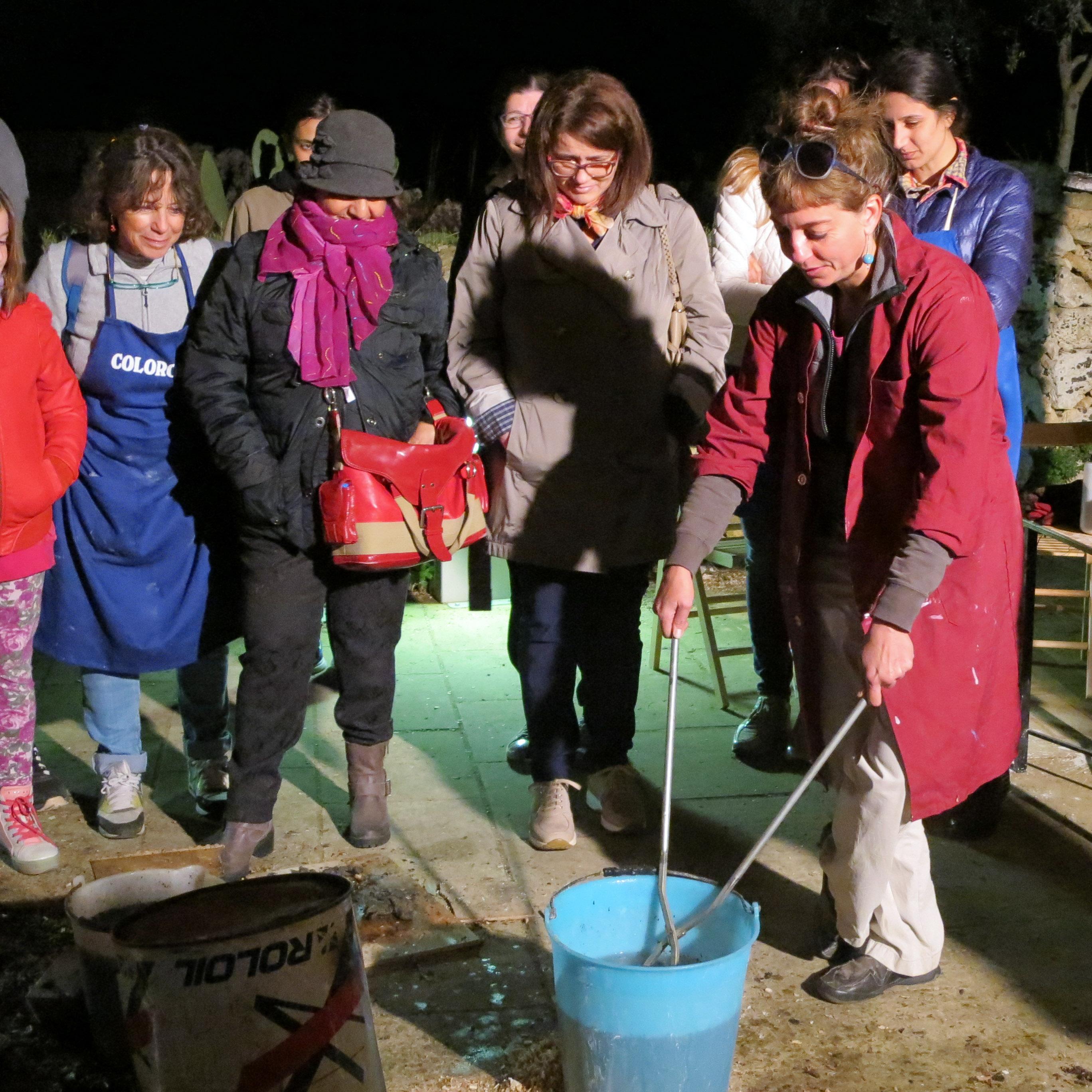 Raku+Water: Water fixes the reduction process - Ildikó Károlyi