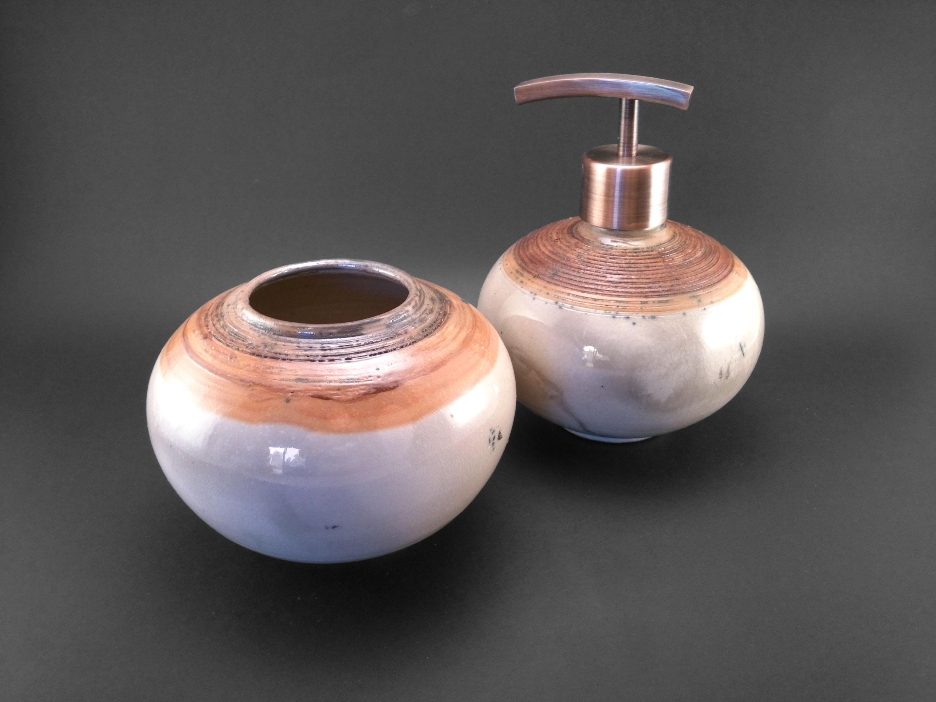 Copper Bathroom Set - Ildikó Károlyi
