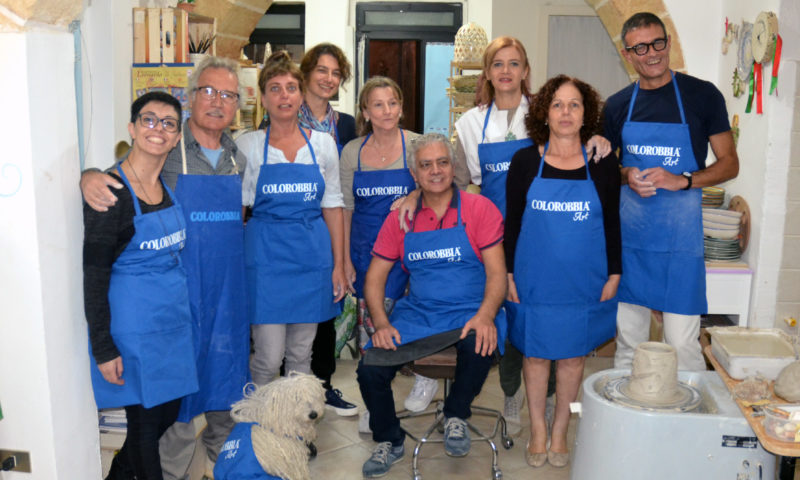 Participants - 1st International Ceramic Symposium in Salento and Raku Workshop