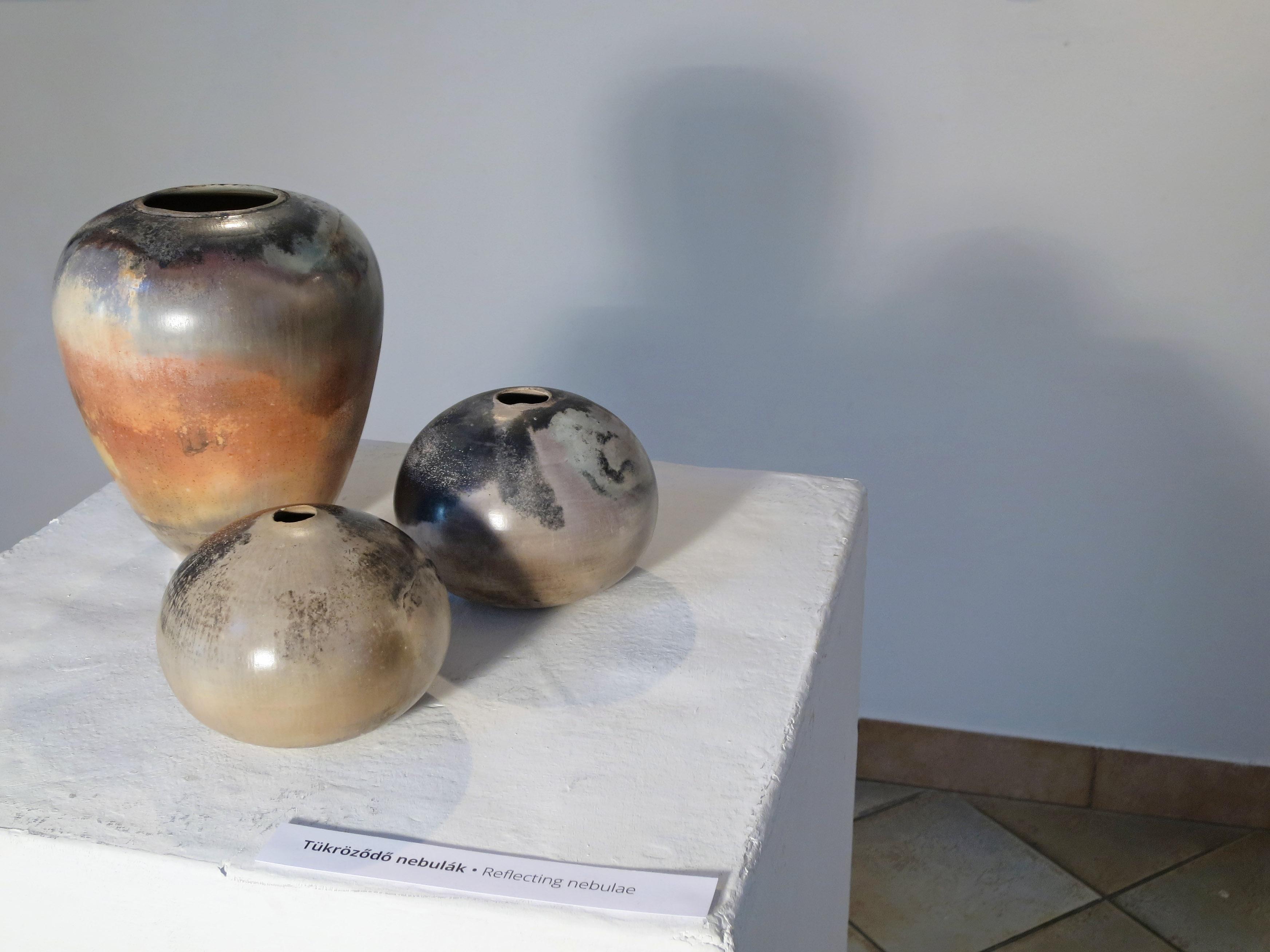 Reflecting Nebulae - Tangible Universes: Solo Exhibition with Whispering Globes