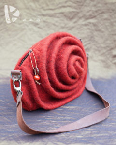 Felt Pouch Case by Kridea - L'Artigiano in Fiera: Exhibition and Fair in Milan