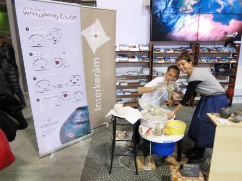 Korongozás Czibor Imrével - L'Artigiano in Fiera: kiállítás és vásár Milánóban