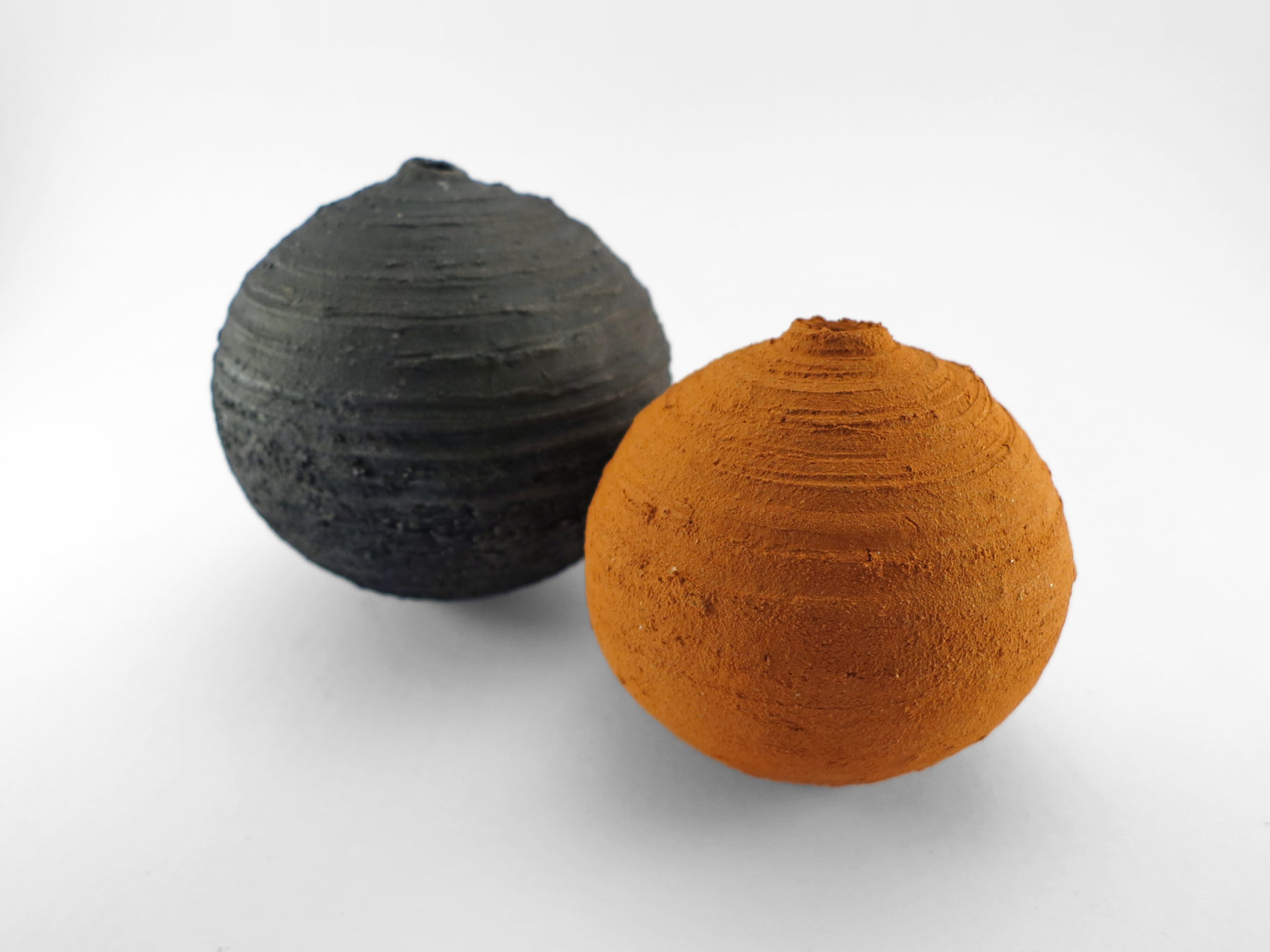 C13, Bound by Hand: Whispering Globes from the Wild Clay Series - Ildikó Károlyi