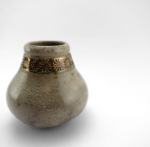 Charming Ceramic Mate Gourd - Ildikó Károlyi