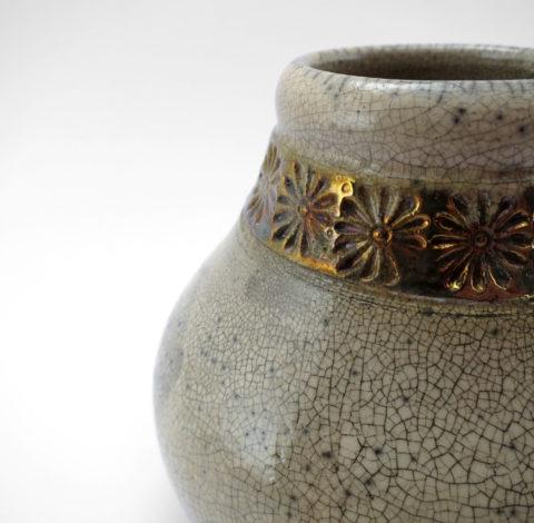Ceramic Mate Gourd (Detail) - Ildikó Károlyi