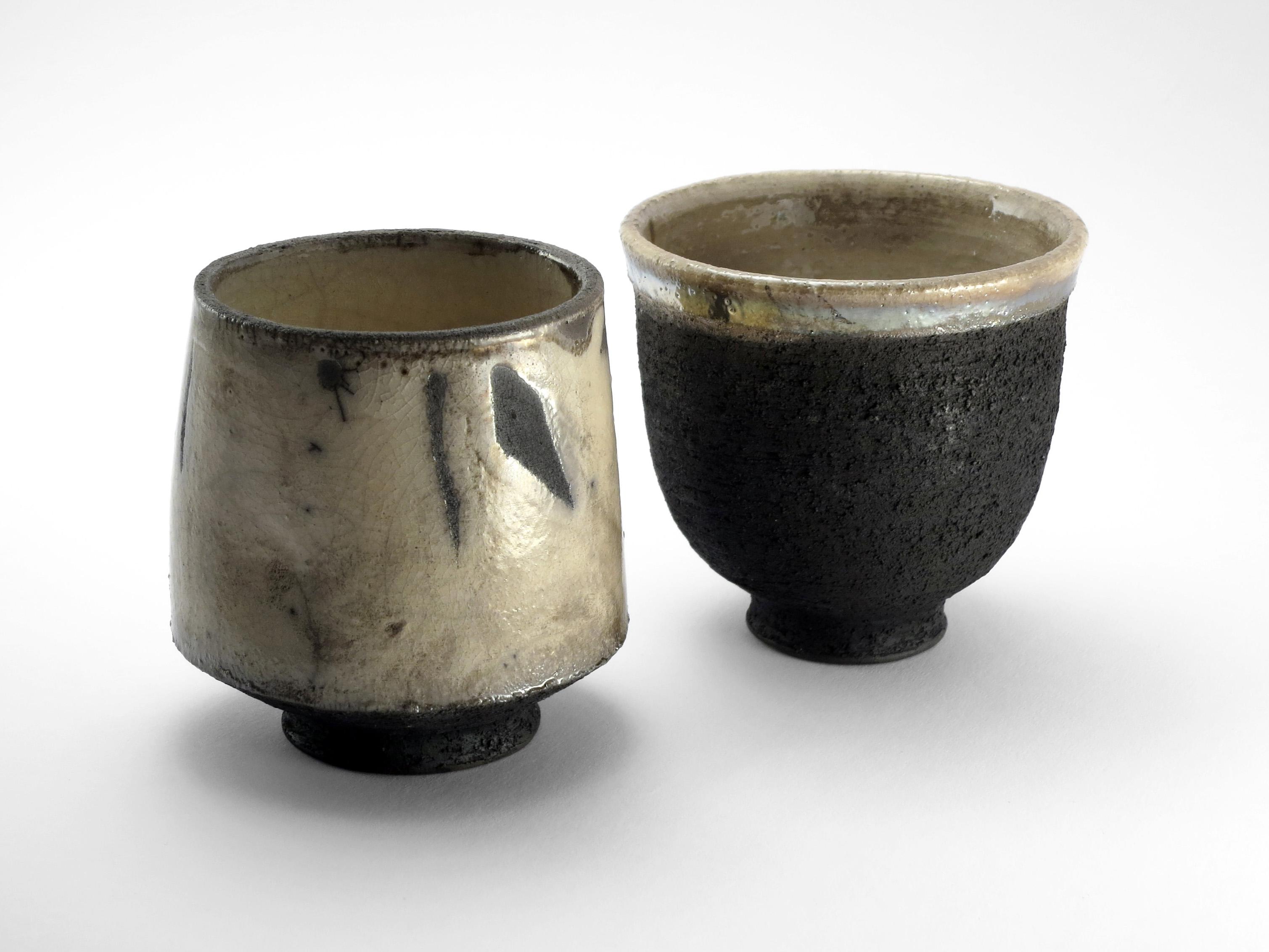 Japanese Style Tea Bowl Couple - Ildikó Károlyi