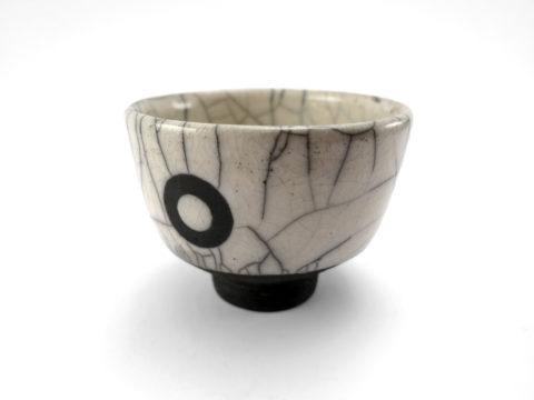 Black Eyed Tea Bowl - Ildikó Károlyi