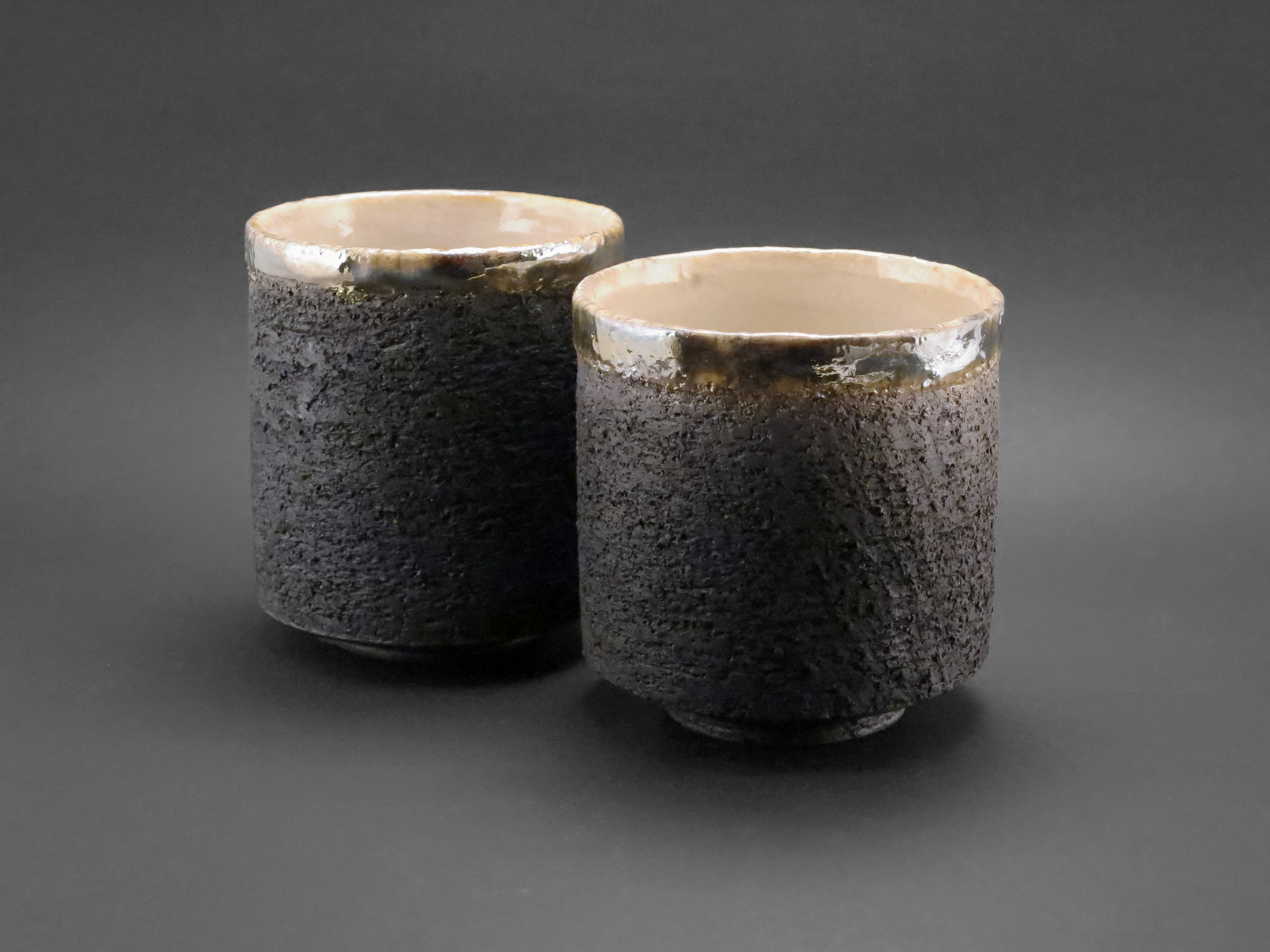 Carbon Cappuccino Cups - Ildikó Károlyi