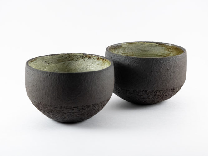Cups of the Terra: Cabo de Gata series - Ildikó Károlyi ceramics