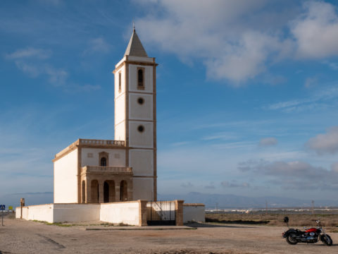 Iglesia de Las Salinas in the Cabo de Gata National Park - Ildikó Károlyi ceramics