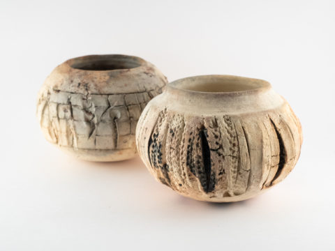 "Pit-fired Vessels of the ""Blue"" Wild Clay - Ildikó Károlyi ceramics"