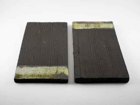 Stoneware Plates of the Terra: Cabo de Gata series - Ildikó Károlyi ceramics