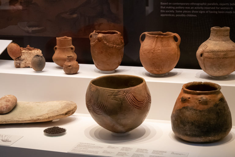 Neolit cserépedények, Málaga - Károlyi Ildikó