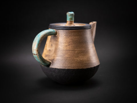 Teapot from the Neolithic series - Ildikó Károlyi