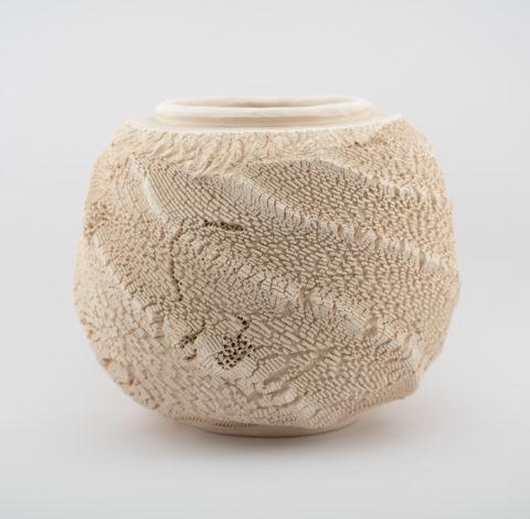 Arrakis: Ceramic Vessel by Ildikó Károlyi