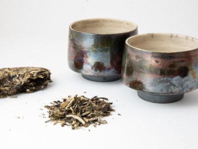 Iridescent Ceramic Cups - Ildikó Károlyi
