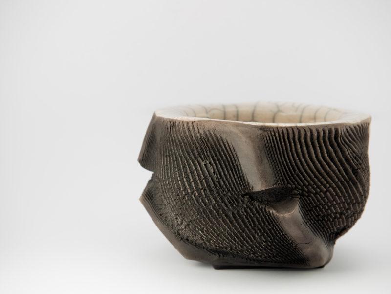 Raku Ceramic Bonsai Pot - Ildikó Károlyi ceramics