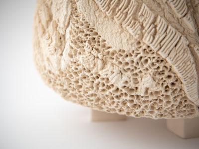 Spice Sculptural Vessel by Ildikó Károlyi: Bottom Detail