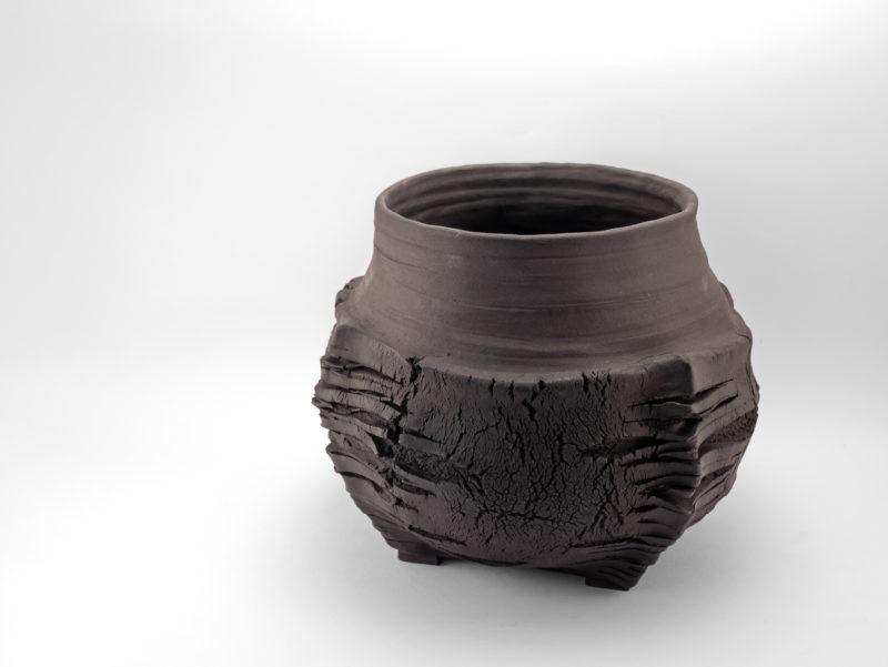 The Longest Night of the Year: Stoneware Vase - Ildikó Károlyi
