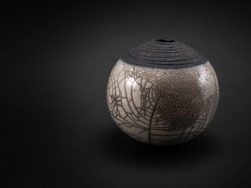 Tree of Life: Whispering Globe by Ildikó Károlyi ceramics