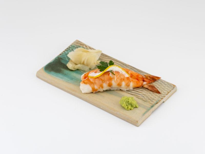 Danube Series Sushi Plate with Ebo Nigri: Ildikó Károlyi