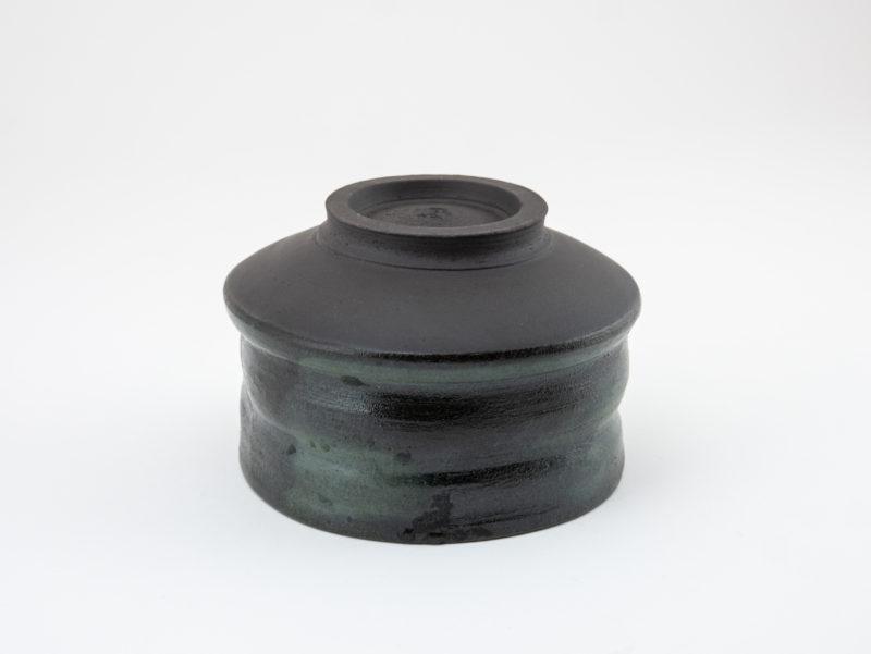 Glazed Stoneware Chawan bottom: Ildikó Károlyi