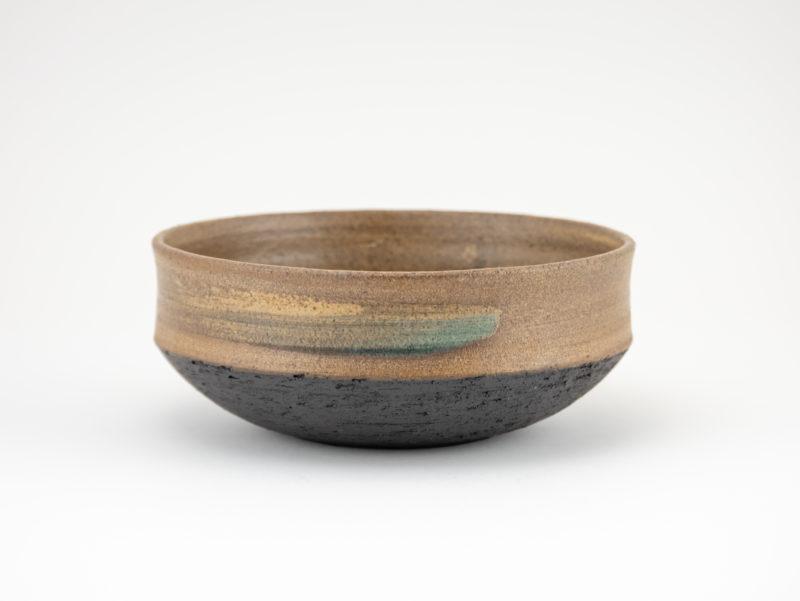 Neolithic-inspired Stoneware Bowl: Ildikó Károlyi