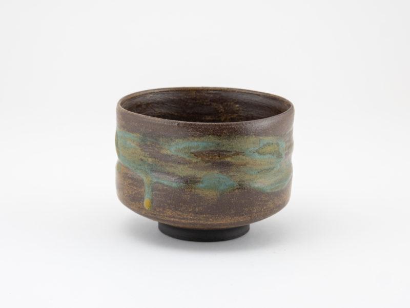 Wild-clay Glazed Chawan: Ildikó Károlyi