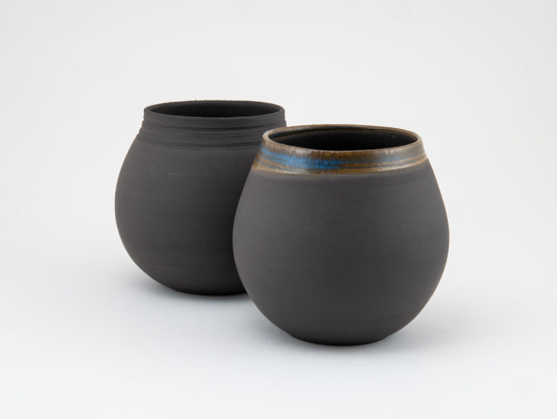 Hope Mate Gourd couple by Ildikó Károlyi ceramics